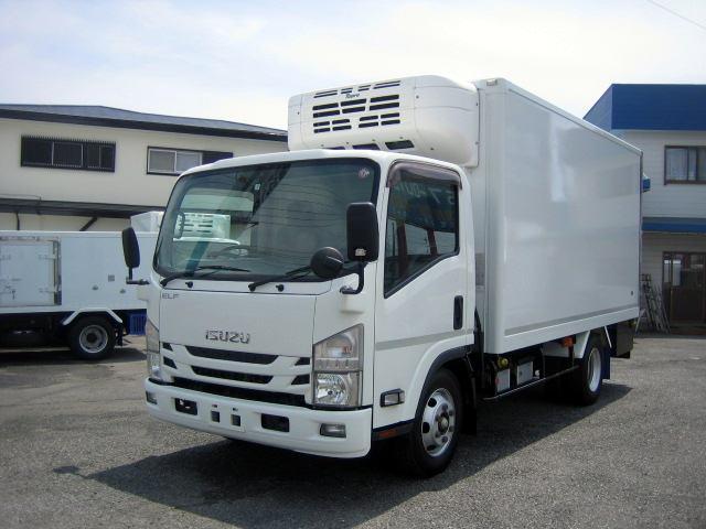 いすゞ 冷蔵冷凍車 中温冷凍車 -5度設定冷凍車 オートマ冷凍車