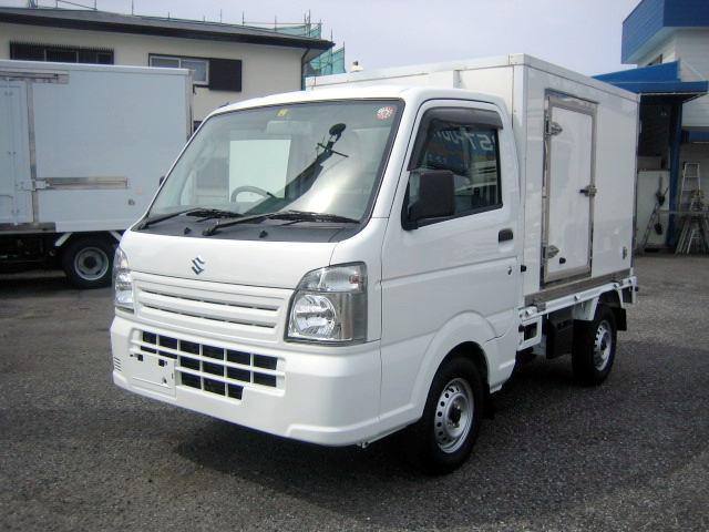 スズキ 冷蔵冷凍車 低温冷凍車 -20度設定冷凍車 2コンプ冷凍車