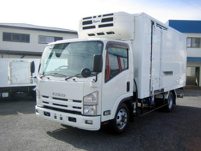 いすゞ エルフトラック  冷蔵冷凍車 低温冷凍車 スタンバイ付冷凍車 3tワイドロング冷凍車 格納パワーゲート冷凍車