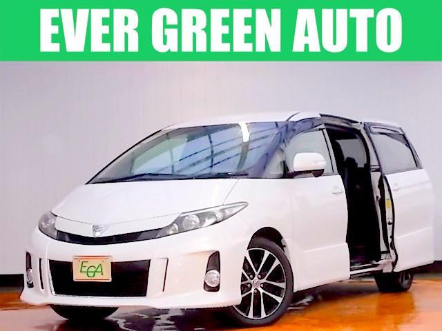 トヨタ アエラス 純正HDDナビ 両側自動ドア フリップダウンモニタ