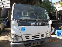 エルフトラック3t4No.10尺平垂直P/G付高床Wタイヤ