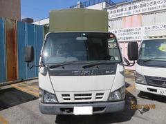 エルフトラック3t4No.P/G付 土木工事用幌付作業車