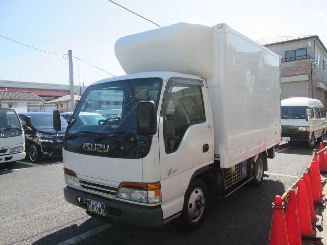 いすゞ フルフラットロー 冷蔵冷凍車 2t積 AT車 スタンバイ