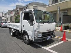 エルフトラック強化フルフラットローダンプ総重量5t未満新免許対応車 2t積