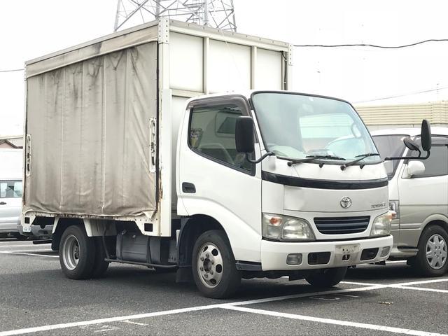 トヨタ フルジャストロー カーテン車 1400kg積み 5MT