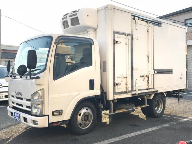 いすゞ エルフトラック フルフラットロー 冷蔵冷凍車 −30℃ ...