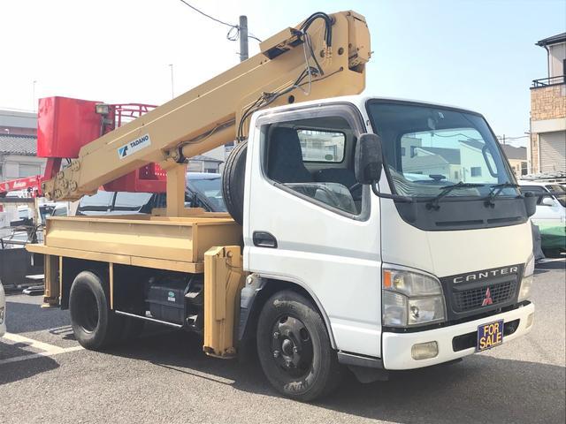 三菱ふそう 高所作業車 5MT タダノAT-121TG