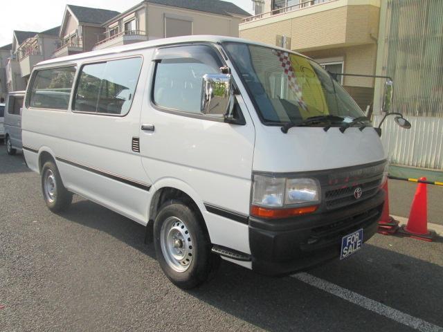 トヨタ ロングDX GLパッケージ9人乗りWエアコン4ナンバー