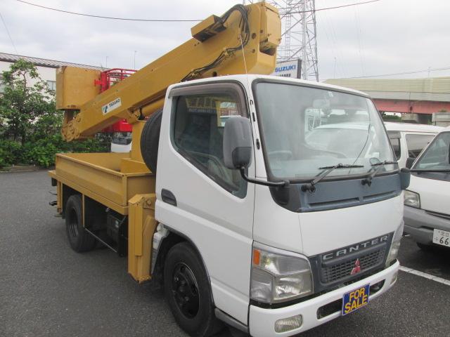 三菱ふそう 高所作業車 タダノAT-121TG 上物動作確認済み