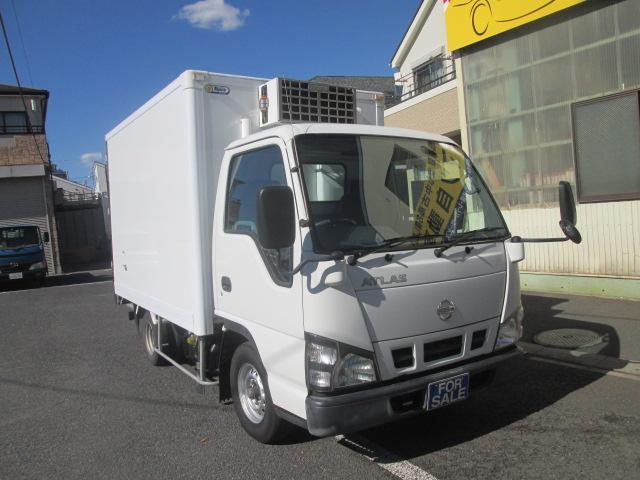 日産 スーパーロー 低温冷蔵冷凍車 -30°設定 サイドドア