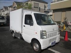 スクラムトラック 冷蔵冷凍車 1オーナー 記録簿 禁煙車 サイドドア −5℃設定 4WD エアコン パワステ 5MT