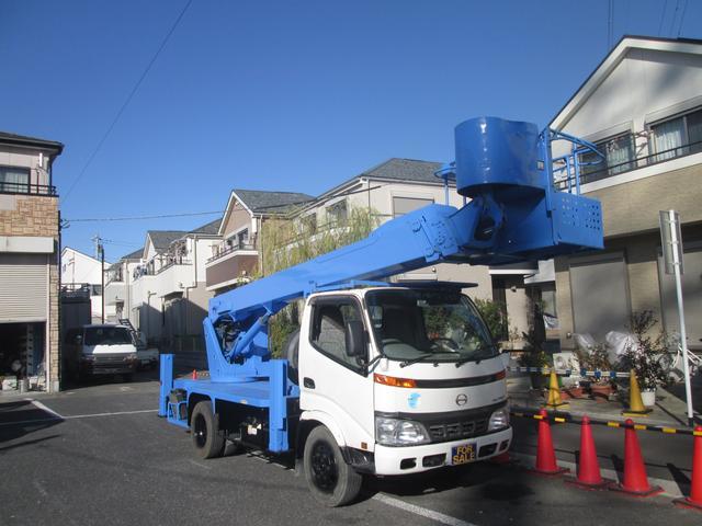 日野  ロング標準ボディー 高所作業車 タダノ製AT170TG
