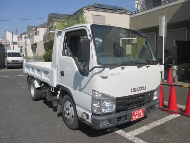 いすゞ 強化フルフラットローダンプ 2t積 車両総重量4955 5速マニュアル