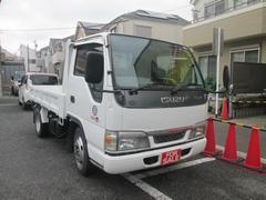 エルフトラック強化フルフラットローダンプ オートマチック 2t積 記録簿 軽油