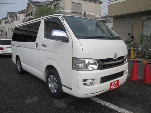 トヨタ ロングスーパーGL ガソリン車 純正ナビTV Bモニター キーレス