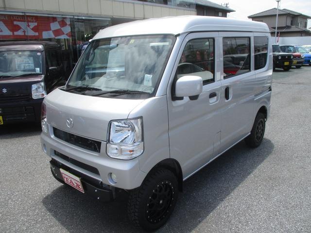 マツダ PCスペシャル 4WD レーダーブレーキ 届出済未使用車