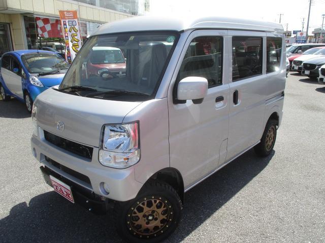 マツダ スクラム PCスペシャル 4WD リフトアップ