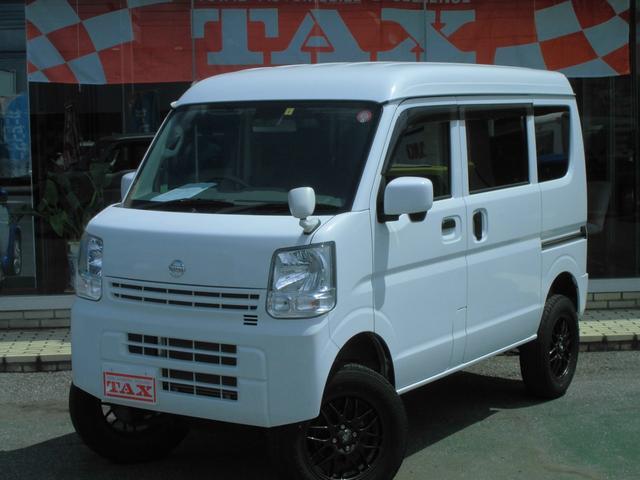 日産 GX 4WD リフトアップ レーダーブレーキ ナビTV AW