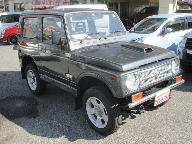 スズキ ジムニー HC 4WD・ターボ・5速MT・車検R4年8月迄