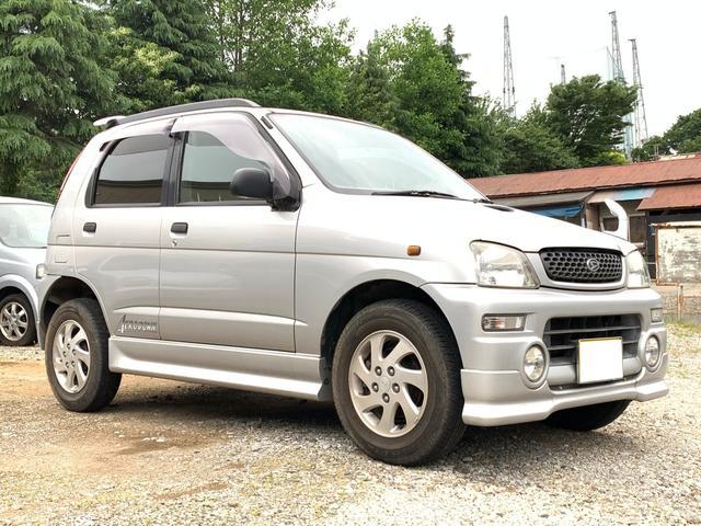 ダイハツ エアロダウン 4WD キーレス CD 背面タイヤ