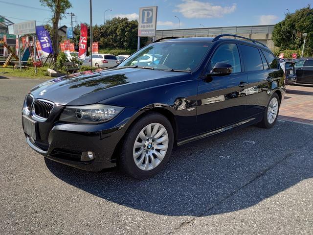 BMW 3シリーズ 320iツーリング E91 LCIモデル 純正HDDナビ外地デジフルセグTV バックカメラ ミラーETC 電動シート HID スマートキー プッシュスタート 禁煙車両