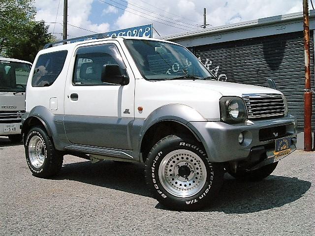 スズキ JZ-LTD 4WD オーバーフェンダー リフトUP AW