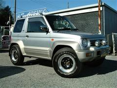 パジェロジュニアアニバーサリーリミテッド 4WD 社外AW 1オーナー