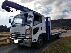 フォワードタダノ2.9t吊りクレーン平ボデー増トン車