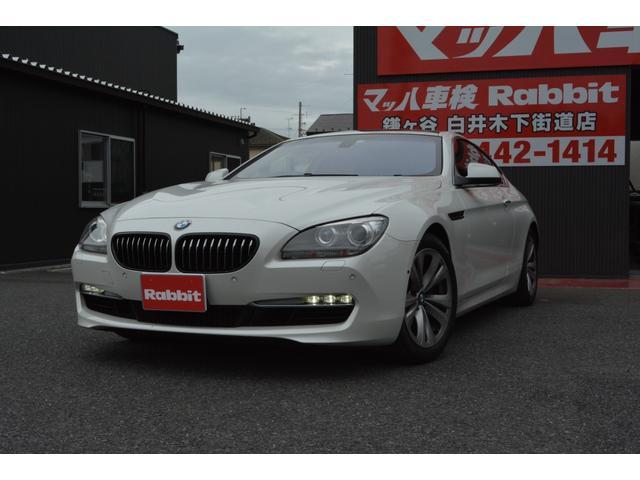 BMW 6シリーズ 640iクーペ 640iクーペ(4名) ミネラルホワイト パノラマルーフ