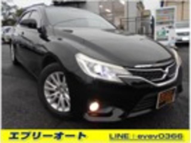 トヨタ マークX 250G ナビ TV フィルム ETC AW