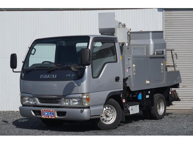 いすゞ 高所作業車 アイチ製電工仕様 ナビ Bカメラ走行6.9万