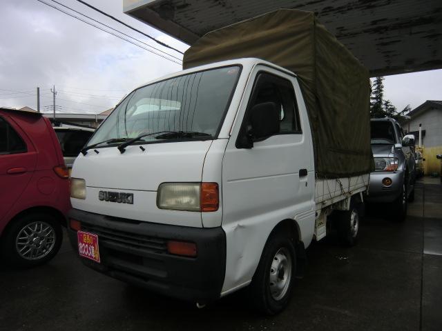 スズキ KU 幌車 4WD 5速マニュアル