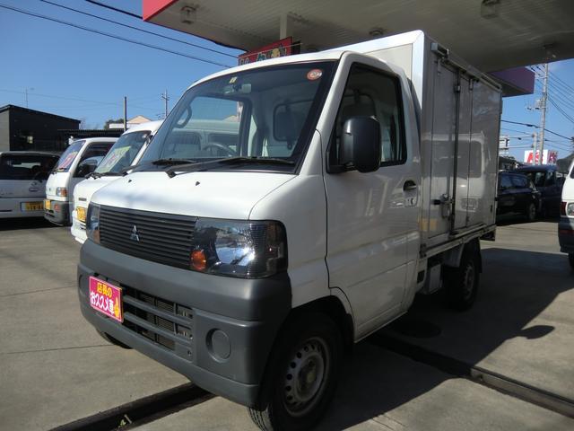 三菱 ミニキャブトラック Vタイプ 保冷車 ワンオーナー 記録簿...