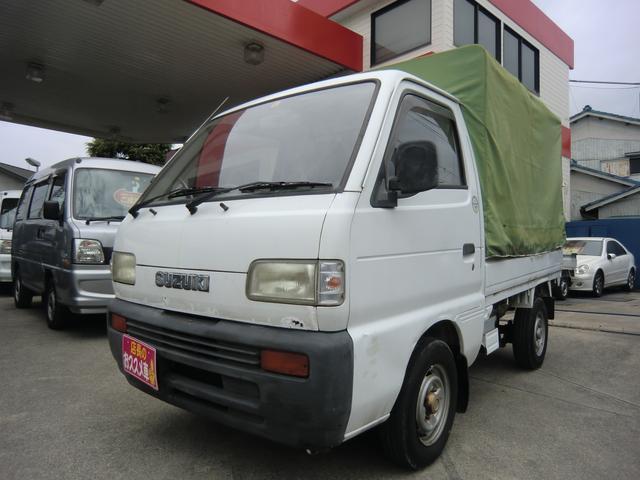 スズキ キャリイトラック KA 幌車 4速マニュアル