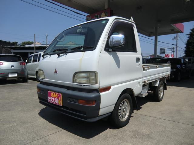 三菱 ミニキャブトラック TD 5速マニュアル 4WD パワステ