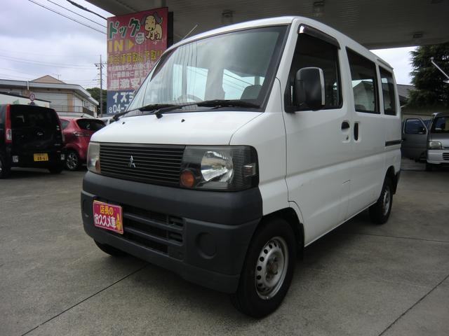 三菱 ミニキャブバン CD 天然ガス車 オートマ パワステ エアバッグ