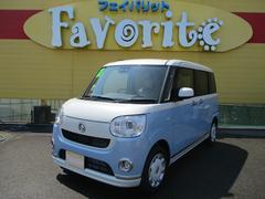 ムーヴキャンバスGメイクアップ SAIII UGP 両Pドア 届出済未使用車