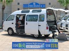 キャラバンバス福祉車輌 チェキャブ リアリフト