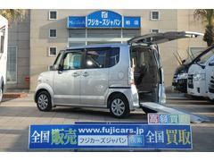 N BOX+福祉車輌 リアスロープ 電動ウインチ ワンオーナー
