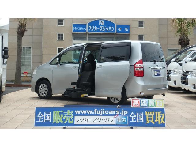 トヨタ 福祉車両 ウェルキャブ 2列目リフトアップシート