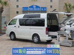 レジアスエースバン福祉車両 ウェルキャブ リアリフト Bタイプ