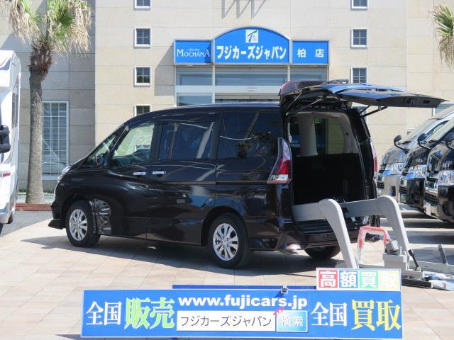 日産 福祉車輌 チェアキャブ リアリフト 4WD