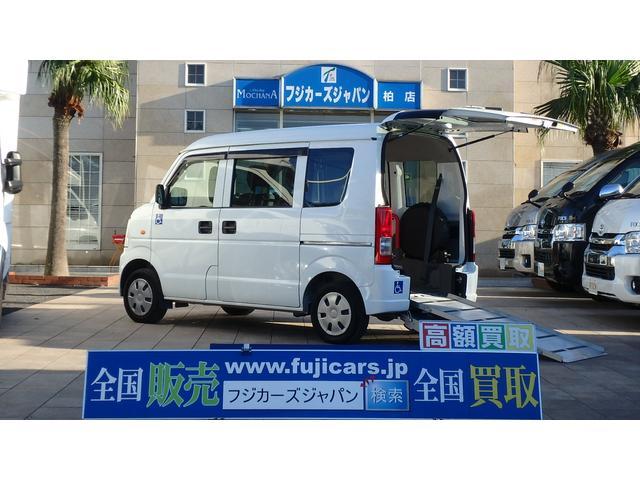 スズキ 福祉車両 リアスロープ 補助席タイプ 電動固定装置