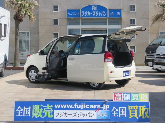 トヨタ 福祉車両 助手席リフトアップシート SDナビ バックカメラ