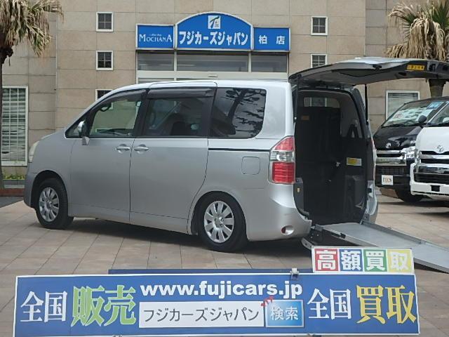 トヨタ ノア 福祉車両 ウェルキャブ リアスロープ 8人1基 (検...