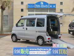 ハイゼットカーゴ福祉車両 リアスロープ 補助席付き 電動ウインチ