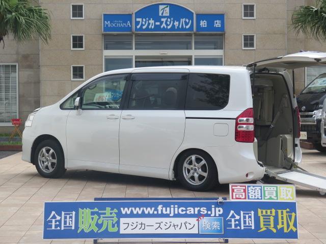 トヨタ ノア 福祉車両 リアスロープ 7人2列目1基