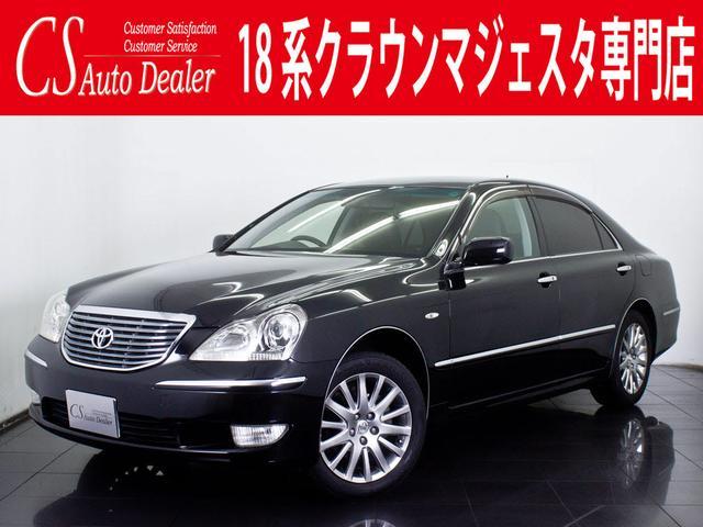 トヨタ マジェスタ4.3A 黒革 DVDマルチ カラーBモニタ