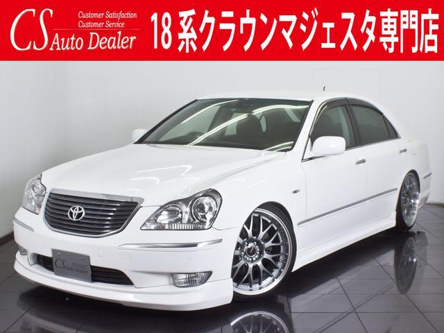 トヨタ 4.3C 新品黒革 新品タイヤ 20AW フルエアロ