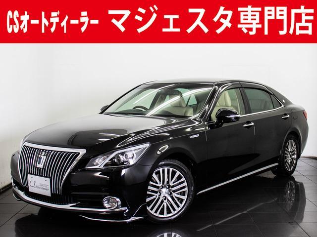 トヨタ 3.5HV F 本革 新品モデリスタFリップ 後席VIP